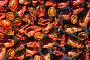 Cheat's sun-dried tomatoes