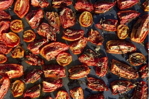 Cheat's sun-dried tomatoes