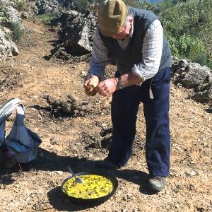 Manuel cooks cazuela